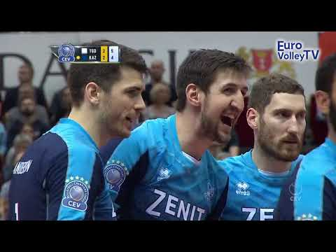 5th set tension as Zenit KAZAN survive scare against Trefl GDANSK