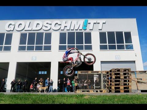 Trial-Bike-Vorführung bei Goldschmitt