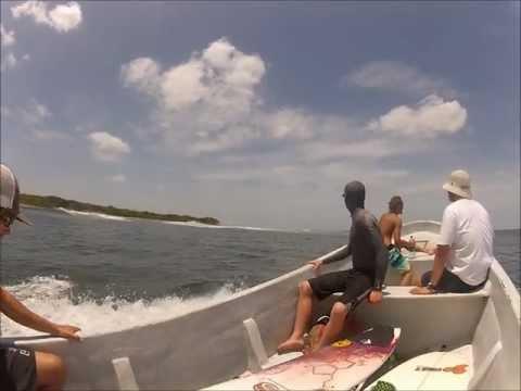 Nicaragua surf trip 2012