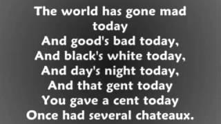 Anything Goes - Cole Porter (with lyrics)