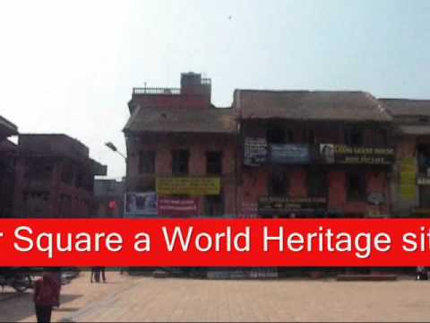 Bhaktapur Streets and Nyatapola Temple.