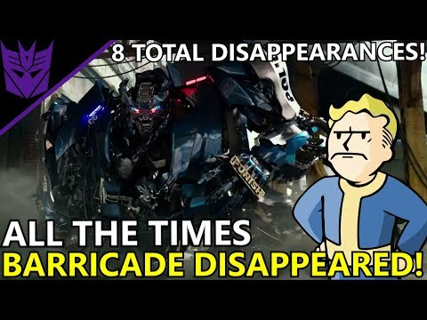 All The Times Barricade Disappeared In The Movie Universe (EXPLAINED)