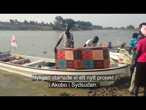 Mobila kliniker når isolerade byar med båt