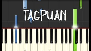 Moira Dela Torre - TAGPUAN || Synthesia Piano Tutorial