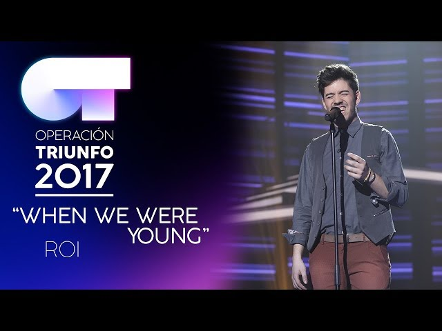"""When We Were Young"" - Roi 