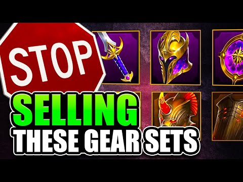 The Best Gear Sets for Early-End Game Players I Raid Shadow Legends