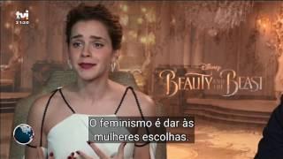 """Polémica Feminista"" - Jornal das 8 - TVI (06/03/2017)"