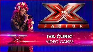 Iva Ćurić - Video games (Live 4) X Factor Adria (31.05.2015) HD