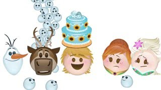 La Reine Des Neiges - Une Fête Givrée en Emoji | Disney BE