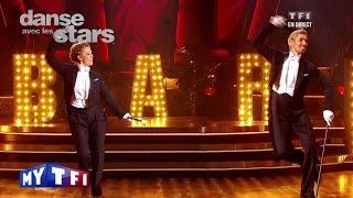DALS S02 - Un charleston avec Sheila et Julien Brugel sur ''Cabaret''