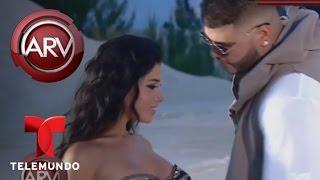 Farruko y Nicky Jam graban el video musical de Sunset | Al Rojo Vivo | Telemundo