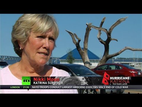 Woman who clung to tree during Katrina flooding recounts storm's horrors