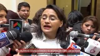 Ministra Valdivia denuncia que Revilla no facilita información sobre la empresa de recojo de basura