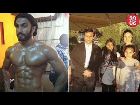 Ranveer's Unbelievable Body Transformation | Saif – Kareena Pose With Fans In Switzerland
