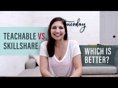 Teachable vs. Skillshare: My Numbers + Which is Best?