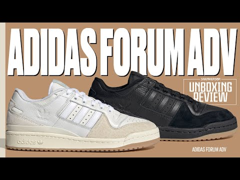 O Clássico FORUM Adaptado Para O Skate | UNBOXING+REVIEW adidas Forum ADV