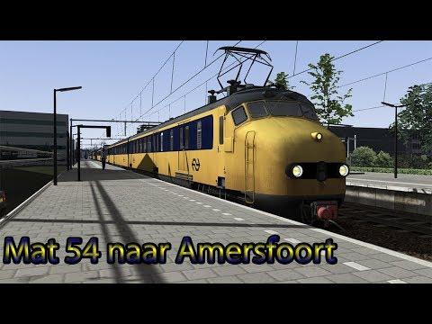 Met de Mat 54 naar Amersfoort | Train Simulator 2019