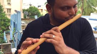 A.R Rahman   Munbe Vaa   Flute Cover   Navin's Notes   #NaNo   #ARR25 width=