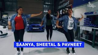Pure Bhangra - Lean On X Nakhreya Mari (DJ Vandan) | Saanya, Sheetal & Pavneet |