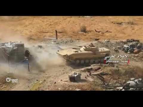 قصف مكثف مع هجوم عنيف وداعش يعلن صد الهجوم  على مخيم اليرموك