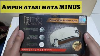 Unboxing - Jeido power eye - terapi anti radiasi mata