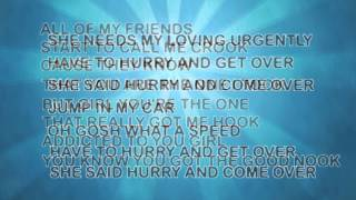 TouchDown (lyrics video) - iakopo ft. Shaggy