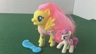 My Little Pony Kids Toy Review MLP Blind Bags unboxing Fluttershy | Jelly Frog Toys