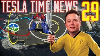 Tesla Time News 29 - Robots catching Rockets on Drone ships
