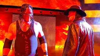 The Undertaker and Kane stand together, moments after SmackDown LIVE: Nov. 15, 2016 width=