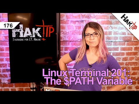 How to Fix Path Variable Errors: Linux Terminal 201 - HakTip 176