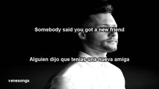Calum Scott - Dancing on my own (Letra Español-Inglés)