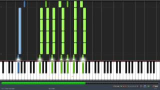 Her Name Is Alice - Shinedown - Synthesia Piano Playthrough + MIDI File