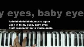 "Adam Lambert ""Music Again"" Piano Cover by Claire Low (GlambertPianist)"
