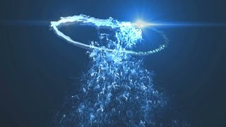 FREE Particles Intro Template #154 Sony Vegas Pro