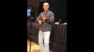 James Ford Murphy singing LAVA