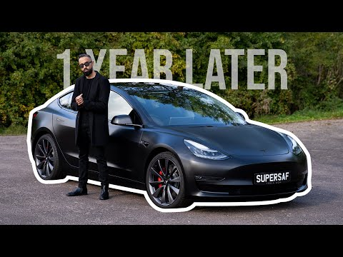 The TRUTH About The Tesla Model 3 Performance - After 1 Year