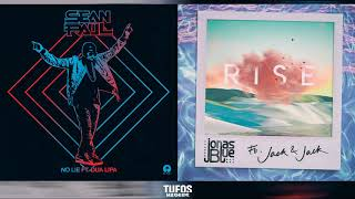 No Rise | Sean Paul (feat. Dua Lipa) vs. Jonas Blue (feat. Jack & Jack) (Mashup)