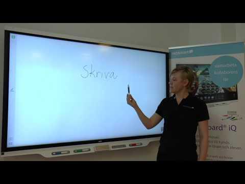 SMART Board iQ 7000 för skola