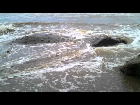 Montelimar Nicaragua Beach, Rock formation