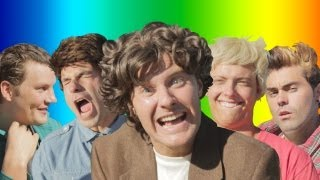 "One Direction - ""Live While We're Young"" PARODY"