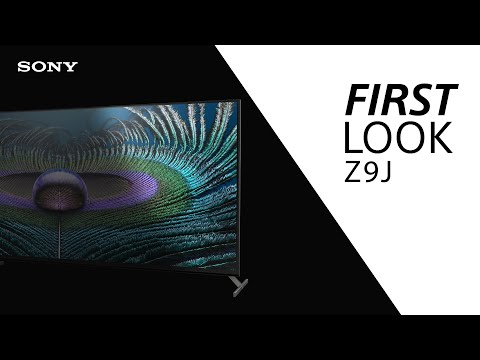 FIRST LOOK: Sony Z9J BRAVIA XR MASTER Series TV