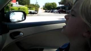 Danger! Danger! Esme's driving!
