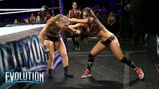 Brie Bella hits Ronda Rousey with a cheap shot: WWE Evolution 2018 (WWE Network Exclusive)