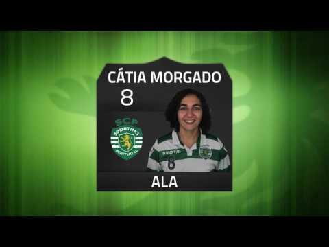 16/17 Resumo/Golos Jornada 7 - Campeonato Nacional Feminino - Sporting CP 4 x 0 Posto Santo