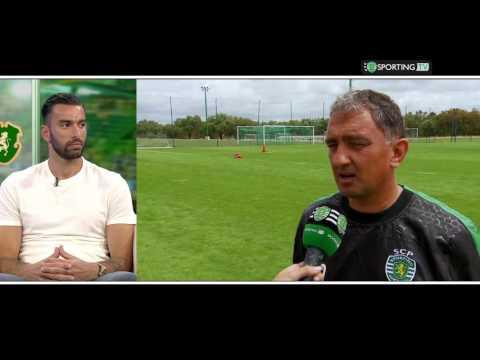 Porta 10 A com Rui Patrício - Sporting Tv