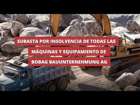 BOBAG: Instalaciones y vehículos para la construcción de edificios, carreteras e ingeniería civil