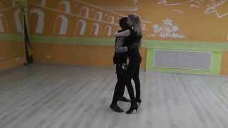 Kizomba Class 12.10.15 at Brazuka Dance School - Aladje Sheva, Laura