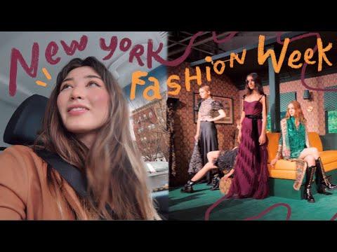Video: i went to New York Fashion Week ahhhhhh