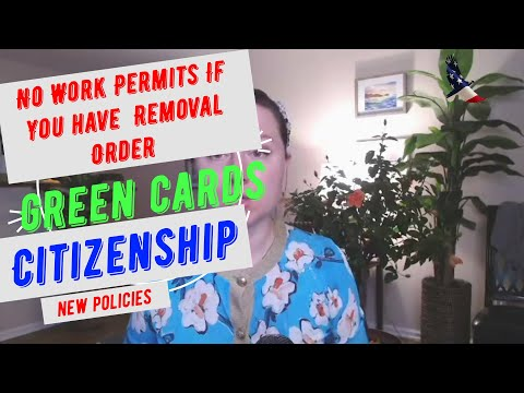 Order Of Supervision Work Permit Changes, USCIS Adjustment of status and Citizenship Policy Updates