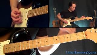 Burn Guitar Lesson - Deep Purple - Famous Riffs